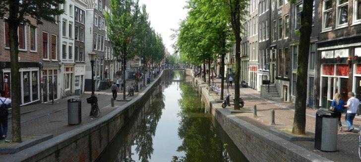 オランダの運河